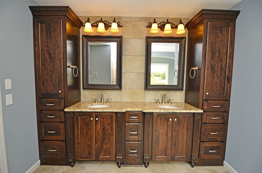 Custom Bathroom Vanities Newcastle bath & vanities - scandia custom cabinets