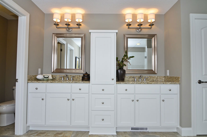 Bath vanities scandia custom cabinets for Custom bathroom cabinets